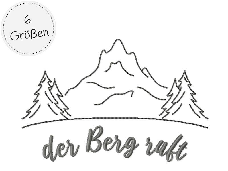 Der Berg ruft - outline